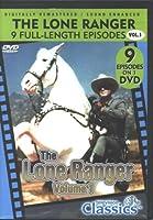 The Lone Ranger - 9 Full Length Episodes - Vol. 1