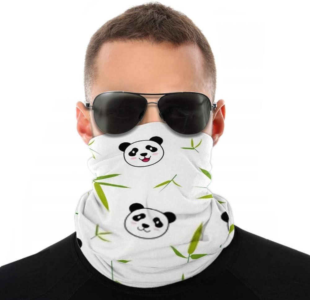 Headbands For Men Women Neck Gaiter, Face Mask, Headband, Scarf Cute Cartoon Panda Animal Kids Pattern Turban Multi Scarf Double Sided Print Head Wrap For Sport Outdoor