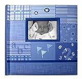 Creat A Memory - Baby Boy Photo Album + Voice Recording Scrapbook + Talking Milestone Journal +...