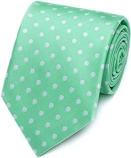 Men's Plaids Stripe Polka Dot Pattern Ties Formal Suit Skinny Necktie for Wedding