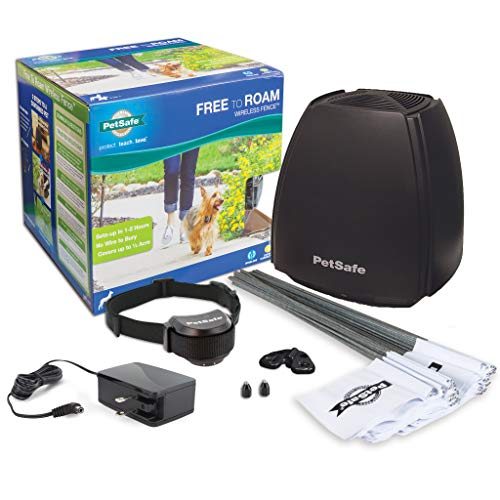 PetSafe Free to Roam Dog and Cat Wireless Fence – Above Ground...