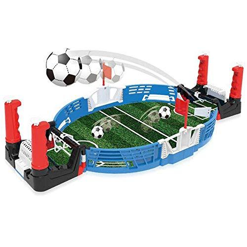 DZANS Mini Tabletop Fußballspiel Desktop, Tischplatte Fußball Interactive Family Fun Kids Geschenk