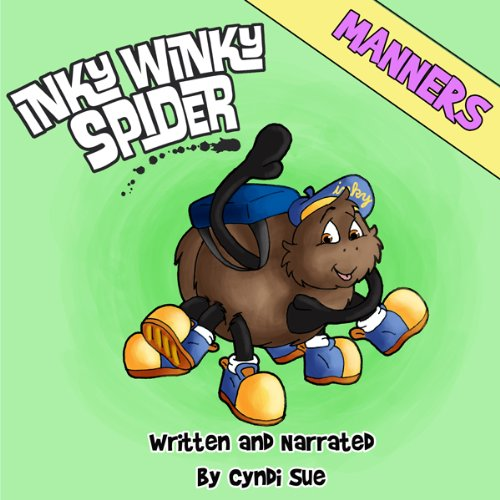 Inky Winky Spider audiobook cover art