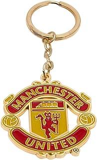 Club Licensed Man Utd Crest Keyring - One Size