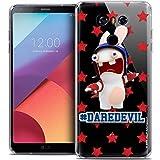 Carcasa para LG G6, Ultrafina, diseño de Conejos cretins Dare Devil