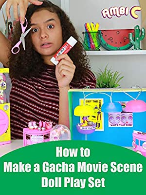 Hobby Kids How to Make a Gacha Movie Scene Doll Play Set