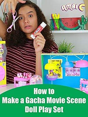 Hobby Kids How to Make a Gacha Movie Scene Doll Play Set