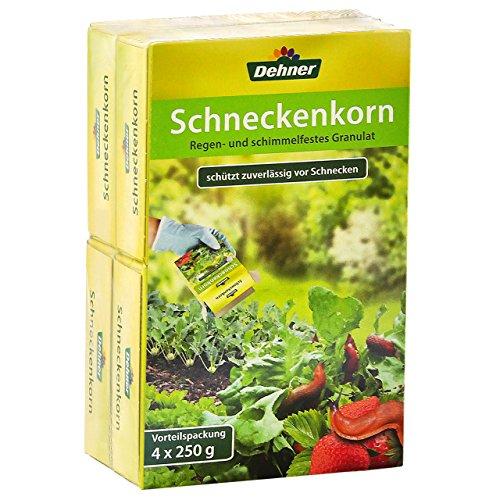 Dehner Schneckenkorn, 4 x 250 g (1 kg),...