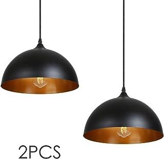 Lámpara de Techo Vintage, Tomshine 2 pack 3.94ft/1.2m Lá