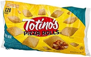 Totino's Pizza Rolls, Triple Meat, 120 Rolls, 59.3 oz Bag (frozen)
