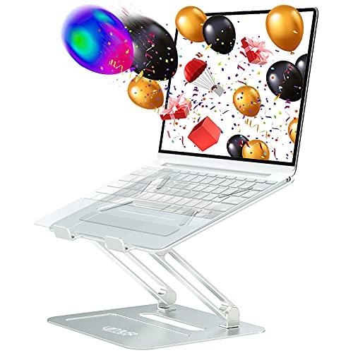 Urmust Adjustable Laptop Stand for Desk Aluminum Computer Stand for Laptop Riser Holder Notebook...