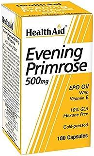 HealthAid Evening Primrose Oil 500 mg - 180 Capsules