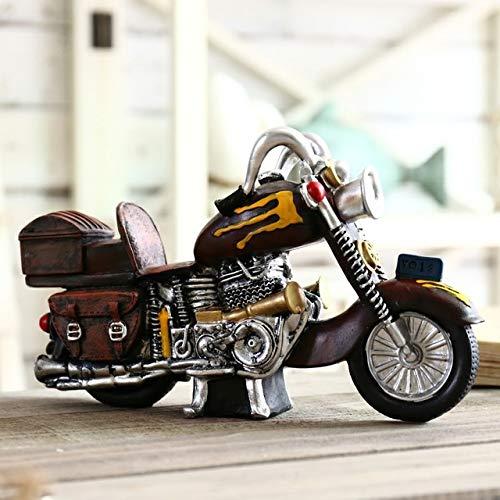 yueyue947 Motocicleta Hucha Juguete Hucha Regalo nios Hucha Masticar Monedas decoracin del hogar Adornos/Coche Hucha Y