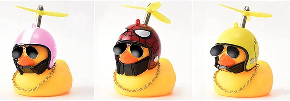 YIYBaF Very popular Squeeze Helmet Duck He Yellow Austin Mall Toy Rubber