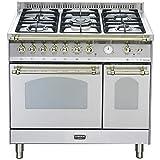 Lofra RSD96MFTE/CI Cucina freestanding Acciaio inossidabile Gas A-15%