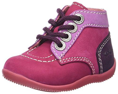Kickers Unisex Baby BONBON Hausschuhe, Violett Fuch Violet Cl Mauve Perm 213, 21 EU