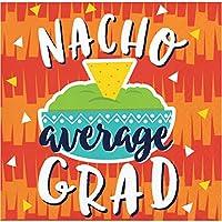 Creative Converting 343504 Fiesta Fun Nacho 平均学位 飲み物用ナプキン 5インチ マルチカラー