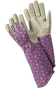 PU Gardening Gloves with Allium Pattern for Women