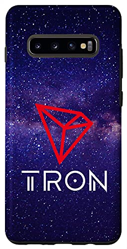 Galaxy S10+ TRX Coin Cryptocurrency 3.0 TRON Technology Case