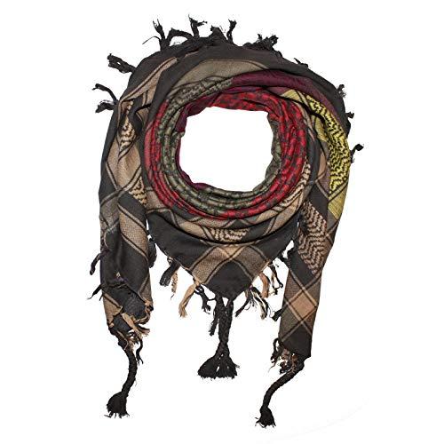 Superfreak Palituch - bunt-mehrfarbig 32-100x100 cm - Pali Palästinenser Arafat Tuch - 100% Baumwolle