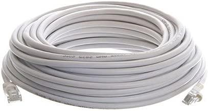 CableVantage 200ft 60m White 200' Ft Rj45 Cat5 Cat5e Ethernet LAN Network Internet Computer Patch Cable for PC, Mac, Laptop, PS3, PS4, Xbox,Xbox One Modem DSL Internet Patch Cable