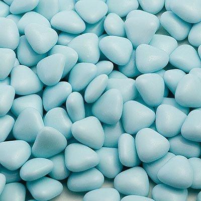 Blauw Mini Hart Chocolade Dragees Bruiloft Favoriete Snoepjes (1 KG/ca. 950 Harten)