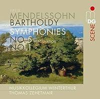 Symphony No 1 & 5 by THOMAS ZEHTMEIER (2013-09-24)