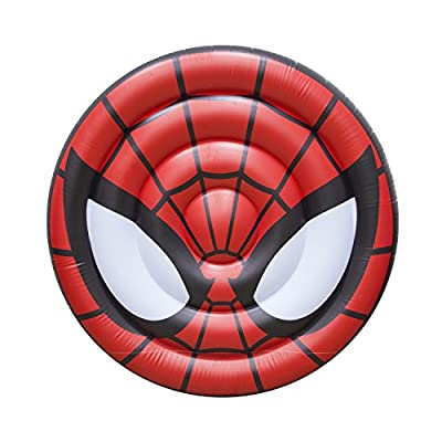 SwimWays Marvel Oversized Inflatable Shield Float - Spider-Man