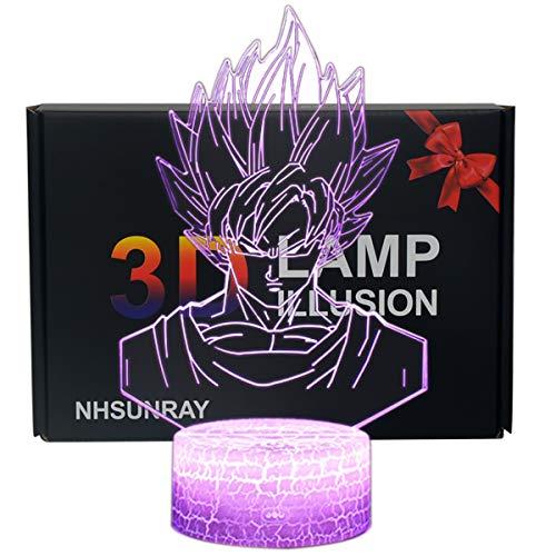 Ray-Velocity 3D Illusion Lampe 7 Farben LED Touch Tischleuchte mit Fernbedienung Nachtlicht Für Schlafzimmer Home Decoration Hochzeit Geburtstag