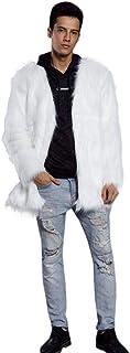 Cappotto Invernale da Uomo Cappotto Invernale Cappotto Invernale Stile Semplice Pelliccia Sintetica Vintage Casual Confort...