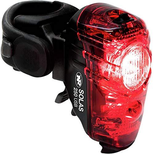 NiteRider Unisex's Lumina 1200 OLED Boost/Solas 250 Combo Light Set, Black, One Size
