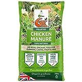 6X strength Pelleted Chicken Manure. 1 Bag of 20KG ( 1 X 20KG )