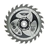 1 x <span class='highlight'><span class='highlight'>Topstools</span></span> CS12024T 120mm 24T 9.5mm Bore TCT Saw Blades Compatible with Worx WorxSaw XL Worx WX427 WX429 WX439 400W 700W