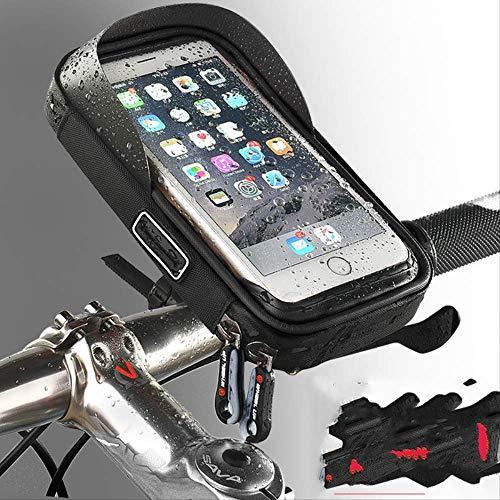 GTREW Bike Telefoon Houder, Bike Mobiele Telefoon Stand, Waterdichte Beugel Tas, Mountainbike Tas Fietstas Voortas Navigatie Frame