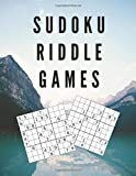 SUDOKU RIDDLE GAMES: ESCAPE THE PUZZLE - Large Format Printing And Big Book Of Funster Brain Game: A Classic Variety Math Crossword Puzzles With 4 ... And Fun For A Gammer Activities Or Hobbies