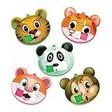 Baker Ross- Puzles deslizantes de Animales (Pack de 6) para llenar Bolsas de cotillón Infantiles