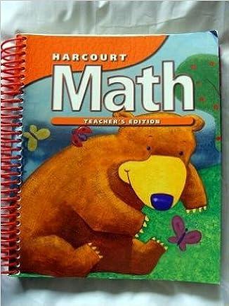 Harcourt Math K - Teacher Edition