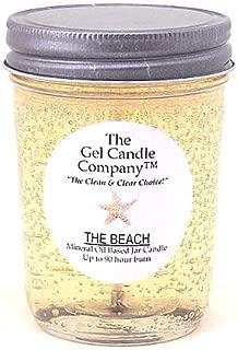 The Beach 90 Hour Gel Candle Classic Jar