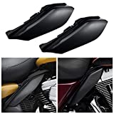 INNOGLOW Motorcycle Mid-Frame Air Deflector Heat Shield Fit for 2009-2017 Harley Road King FLHR Street Glide FLHX 2010 2011 2012 2013 2014 2015 2016