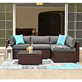 COSIEST 5-Piece Outdoor Patio Furniture
