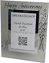 Moldura para foto de aniversário de 15 anos Dreamair: Porta (flor) (aniversário de casamento de cristal)
