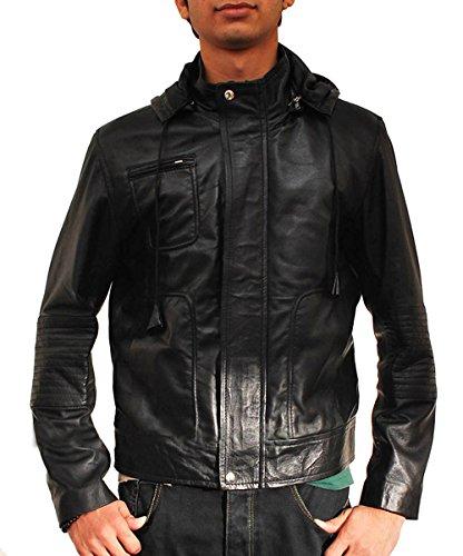 Mission Impossible Ghost Protocol Hoodie Wrinkled Jacket Black