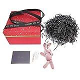 Uxsiya Caja de Regalo no fácil de deformar para Guardar Joyas, para Guardar Caramelos(Red (Suit B))
