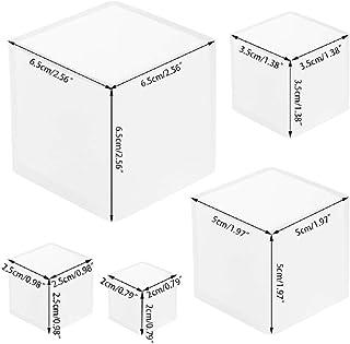 Tassenmatte DIY Kunst Kristall LAOJIA Silikon-Formen f/ür Untersetzer UV-Klebstoff Harz Handwerk Epoxidharz