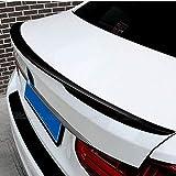 LCRAKON AleróN Trasero De Fibra De Carbono Apto para BMW F30 F35 3 Series M3 320i 323i 325i 328i 2013-2016-2019, ala del Maletero Spoiler Trasero Negro