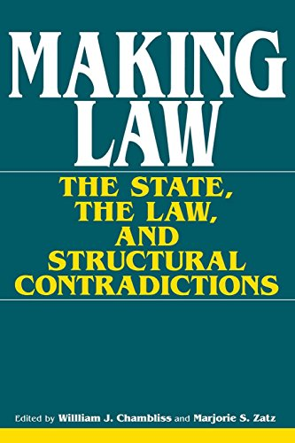 Making Law: The State, the Law, and Structural Contradictions (A Midland Book)