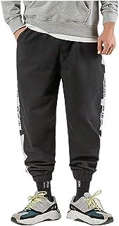 UFACE Pantaloni Cargo Uomo,Pantaloni Tasca Pantaloni Uomo Lunghi Cargo con Coulisse Tasche Laterali Trousers della di Hip ...