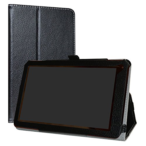 RCA 7 Voyager III Case,LiuShan PU Leather Slim Folding Stand Cover for 7
