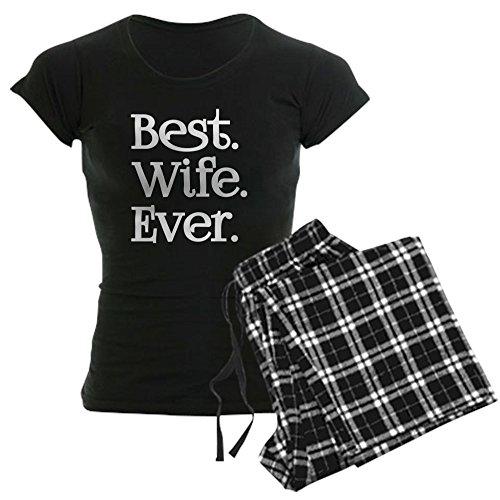 CafePress Best Wife Ever Pajamas Womens Novelty Cotton Pajama Set, Comfortable PJ Sleepwear