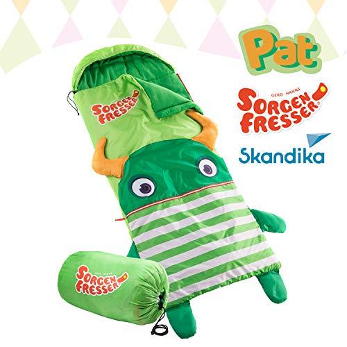 Skandika Sorgenfresser Schlafsack für Kinder mit großer Tasche (bis -12°C) (Pat)